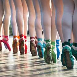 ballet school Newcastle All About Pointe Shoes Blog Image