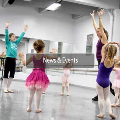 North East Dance School News and Events Button